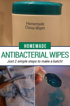 Make your own antibacterial wipes better than Clorox! Perfect sine it is hard to find these right now in the stores. This is a safer and healthier version to continue to make yourself!