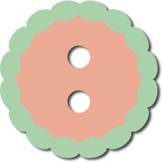 Scalloped Button SVG File for Sure Cuts a Lot