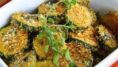 Parmesan Zucchini Rounds  2 Smartpoints
