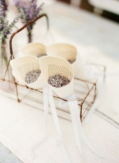 Lavender throwing grains - lovely scented confetti