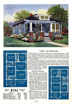 Sterling Homes 1928 The Superior | Flickr - Photo Sharing!