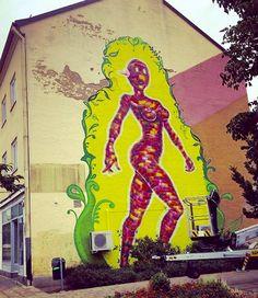 by Lady Pink in Österlen, Sweden, 7/15 (LP)