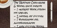my reading challenge