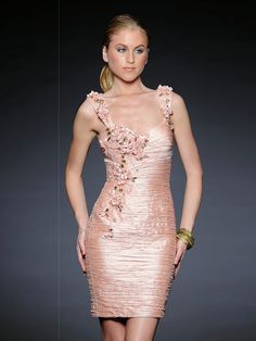 Vintage evening gowns- Peach colors and Evening gowns on Pinterest