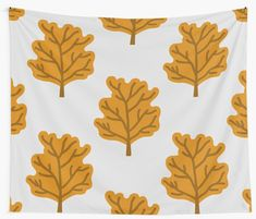 """""""Trees"""" Wall Tapestry by Tapestry Design, Wall Tapestry, Thing 1, Tree Patterns, Tree Wall, Autumn Trees, Textile Prints, Sell Your Art, All Print"""