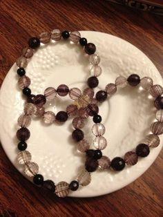 """Around Midnight"" $7.50 a piece, plus shipping.   Burt's Bracelets https://www.facebook.com/BurtsBracelets"