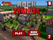 During a 3D game namely Rock Vs Zombies  a Minecraft guy's house can be totally destructed if there is no support from others. As a Minecraft hero ther