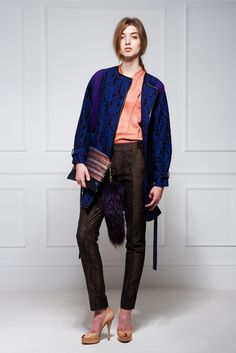 Matthew Williamson Pre-Fall 2012.  Model - Kate Howatt.