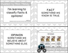 Limited Time Free Fact and Opinion Materials Available through April 6th 2013 ONLY www.mandyfyhrie.com