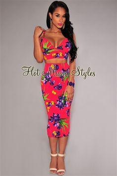 7456215560d7b9 Mint Multi-Color Floral Textured Midi Dress | loved fashion | Dresses,  Floral, Dress skirt