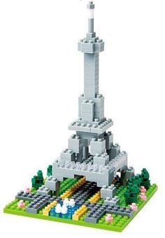 tiny nanoblock Eiffel Tower - my second nano block