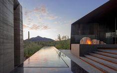 wendell burnette architects desert courtyard house designboom