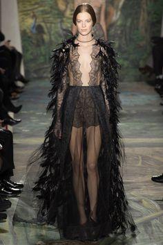 Naughty - cape.    Valentino - Haute Couture SS 2014  #ParisFW #PFW
