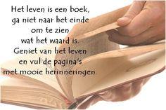Zie het leven als een boek!