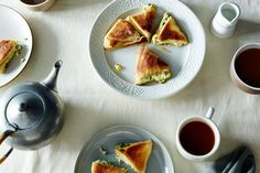 Georgian Khachapuri Filled with Ramps, Green Onions, Herbs, and Cheese recipe on Food52