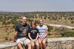 In July, Bruce, DDS'89, Amy, and daughter Morgan Vande Berg toured Tanzania, including a scenic stop in Tarangire National Park.