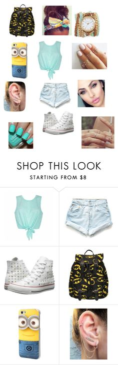 """Untitled #13"" by zaynmalikswifie610 on Polyvore featuring Ally Fashion, Levi's, Converse, Sara Designs and GURU"