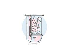 ShowerTime by Olga - Dribbble