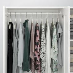 BRIMNES Wardrobe with 3 doors, white, Of course your home should be a safe place for the entire family. That's why a safety fitting is included so that you can attach the wardrobe to the wall. Ikea Brimnes Wardrobe, Split Entry Remodel, Ikea Canada, Fitted Wardrobes, Clothes Rail, Ikea Bedroom, Mirror Door, Panel Doors, Interior Accessories