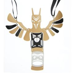 Totem Pole Neck piece - Ana-lee