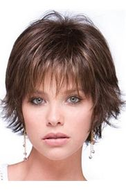 Elegant Short Fine Layered Hairstyles for Thin Fine Hair - Hair Styles Short Hairstyles Fine, Round Face Haircuts, Haircuts For Fine Hair, Short Haircuts, Sassy Haircuts, Shaggy Hairstyles, Haircut Short, Layered Haircuts, Straight Haircuts