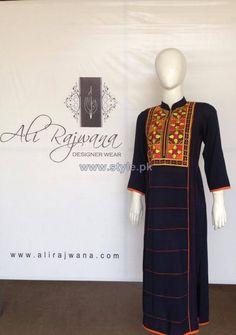 Ali Rajwana Summer Dresses 2014 For Girls