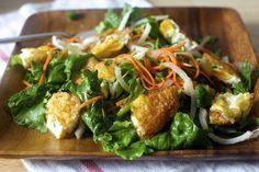 Fried egg salad by smitten, via Flickr