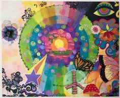 Universo Feminino, a Mandala das Mandalas!!! só em Paola Frisoli Art