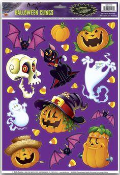 Halloween Clings