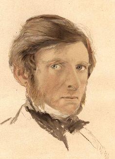 Self-portrait by John Ruskin