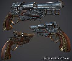 Flintlock Pistol by Nosslak.deviantart.com on @deviantART
