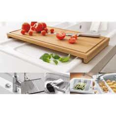 Villeroy U0026 Boch Wooden Chopping Board Sink Accessory