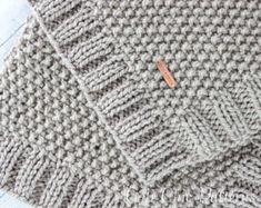 Knit Baby Blanket Pattern, Heart Baby Blanket Pattern, Easy Knitting Pattern by Deborah O'Leary – knitting blanket modern Pattern Baby, Free Baby Blanket Patterns, Easy Knitting Patterns, Crochet Pattern, Amigurumi Patterns, Knitting Projects, Easy Knit Baby Blanket, Knitted Baby Blankets, Knitted Blankets Pattern Free
