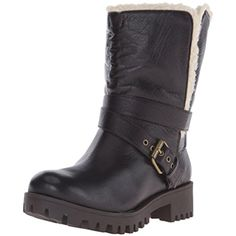 Women's Olwyn Leather Ankle Bootie ** Visit the image link more details. (This is an affiliate link) #MidCalf