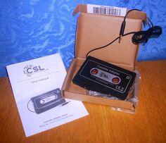 CSL High Quality Multi Autoradio-Kassetten-Adapter  Meinen Testbericht findet ihr hier:  https://linasophie77.wordpress.com/2016/07/29/csl-high-quality-multi-autoradio-kassetten-adapter/