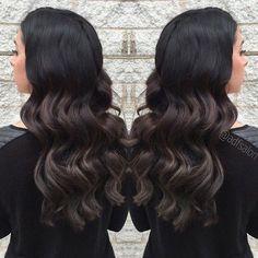 sombre+for+long+black+hair
