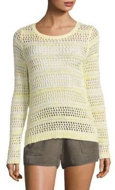 Joie Soft Joie Akemi Crochet Sweater