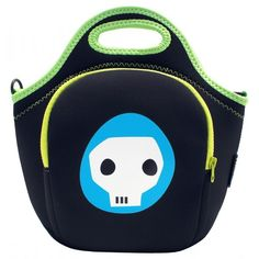 Jellybones lunch bags have an internal pouch for ice bricks, a front pocket complete with pencil holders and a top carry handle. Each Jellyb. Back To School Sales, Back To School Shopping, Eco Kids, Neoprene Lunch Bag, Building For Kids, Trendy Kids, Pouch, Skull, Backpacks