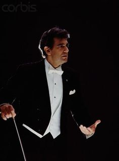 Placido Domingo, conductor