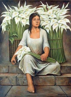 by Carlos Orduna Mexican Artwork, Mexican Paintings, Mexican Folk Art, Diego Rivera Art, Arte Latina, Latino Art, Frida And Diego, Mexico Art, Mexican Artists