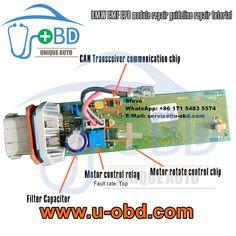 BMW electronic parking brake module EMF autohold control module repair guideline common fault repair kit