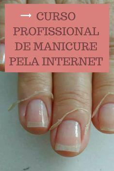 Curso Profissional de Manicure pela Internet. É possível ter as unhas lindas e decoradas de forma simples. #unhasdecoradas #unhaslindas