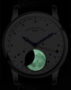 'Cause you need to know the moon's current phase. Night shot of the Schaumburg MooN One.