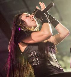 Brittany Slayes from Unleash The Archers