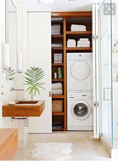 Laundry room …