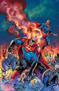 Superman Cover by Ivan Reis & Joe Prado Superman Comic Books, Superman News, Superhero Superman, Superman Art, Superman Family, Comic Books Art, Comic Art, Spiderman, Superman Stuff
