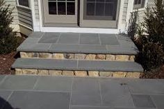 Image result for entrance steps Grand Staircase, Stairs, Front Porch Steps, Backyard, Patio, Entrance, Deck, Doors, House