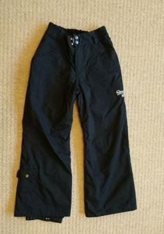 Roxy ski / #snowboard #trousers age 10 #black,  View more on the LINK: http://www.zeppy.io/product/gb/2/252726133179/