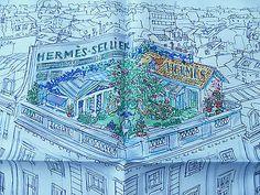 f564b014064ced Original Hermes Seidentuch /Gavroche 45cm