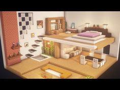 Cute Minecraft Houses, Minecraft Mansion, Minecraft House Tutorials, Minecraft Plans, Minecraft Room, Minecraft House Designs, Minecraft Tutorial, Minecraft Creations, Minecraft Crafts